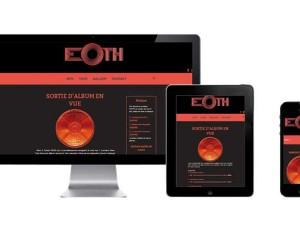 Création du site Web EOTH – Groupe de JAZZ à Nantes