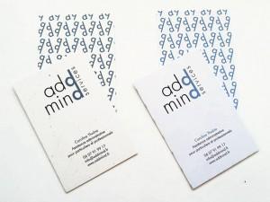 Logotype et Cartes de visites ADDMIND Service
