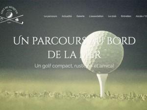 Réalisation du site internet du golf de MESQUER