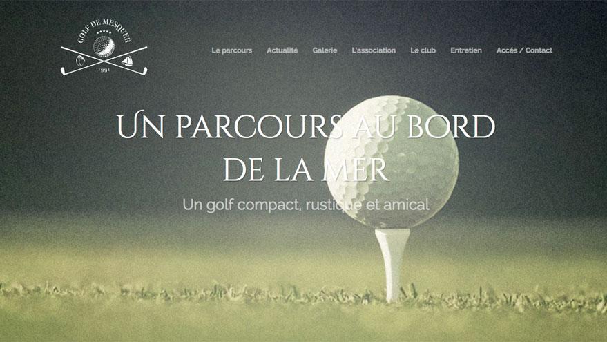 site-web-golf-de-mesquer