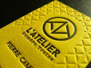 Nouvelles cartes yellow pour L'Atelier Numéro 13